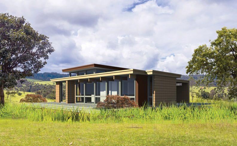 Frank Lloyd Wright usonian house plans